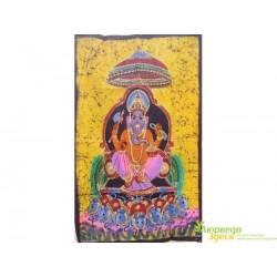 Панно Боги, Шри Ганеша, 75х115 ручная работа