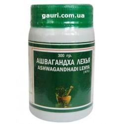 Ашвагандхади Лехья, Восстанавливающий силу и энергию тоник, Ashvagandhadi Lehya, Ashvagandha Lehya, 300грамм