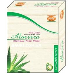 Маска для лица травяная Алоэ Вера Кхади, Aloe Vera Herbal Face Pack Khadi