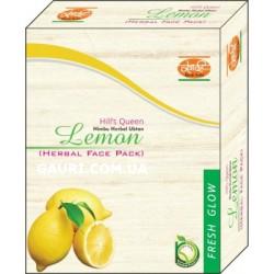 Маска для лица травяная Лимон Кхади, Lemon Herbal Face Pack Khadi