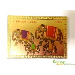 Магнит Семья Слонов, Elefant Family