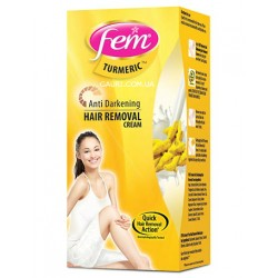 Крем для эпиляции, Fem Hair Removal Cream, Sensitive Skin, Sandal, Dabur