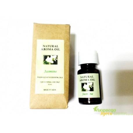 "Ароматическое масло Жасмин, ""Jasmine"", натуральное масло, 10мл"