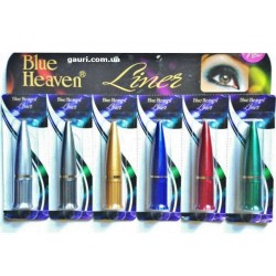 Линер серебристый подводка для глаз Каджал, Kajal Liner Blue Heaven color line, 2,2грамма