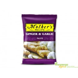 Имбирно Чесночная паста, Mother's Recipe Ginger Garlic Paste, 100грамм