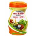 Амрит Расаяна Чаванпраш, классическая рецептура с удивительными свойствами, Amrit Rasayan, Patanjali, 500грамм