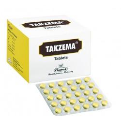 Такзема, положительный результат без стероидов и гормонов, Чарак Фарма, Takzema, Charak,, 20табл