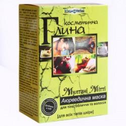 Маска - глина для лица Мултани 100 грамм