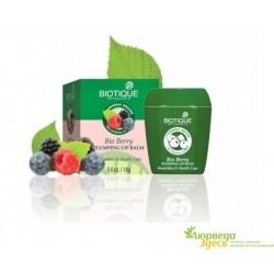 Бальзам для губ Био Ягоды Уплотняющий и придающий полноту объёма, Biotique Bio Berry Plumping Lip Balm,