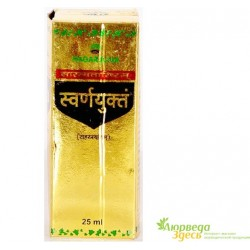 Сарасватариштхам с Золотом, нормализирует работу организма, Saraswatharishtam, Nagarjuna Saraswatharishtam with Gold