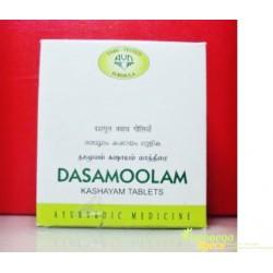 Дашамула Кашая, в таблетках, нормализирует работу организма, Dashamula Kashaya, Dasamoola Kashayam