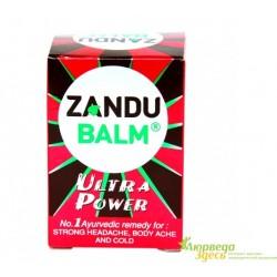 Бальзам Занду Ультра Сила, один бальзам - тройное действие, Zandu Balm Ultra Power