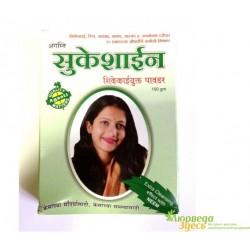 Травяной шампунь-маска для волос Сукешайн, Sukeshine Shikekaiyukta Powder, Agasti Pharmaceuticals