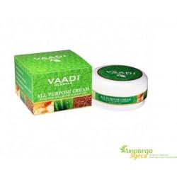 Крем универсальный с Алоэ, Мёдом и Манжиштой, Vaadi Herbals All Purpose Cream With Aloe Vera, Honey & Manjistha