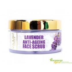 Скраб антивозрастной с Лавандой и Манжиштой, Vaadi Herbals Anti-Ageing Lavender & Rosemary Face Scrub