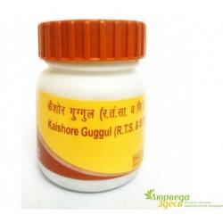 Кайшоре Гуггул, Кайшоре Гуггул, Kaishore Guggulu, Patanjali Divya, Патанджали, широкий спекрт действия, 20грм.