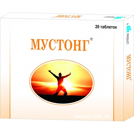 МУСТОНГ ТАБЛЕТКИ, Mustong tablets TTK Healthcare, энергетический тоник для мужчин