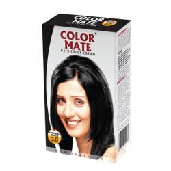 Крем-Краска для волос Колор Мейт Чёрный, COLOR MATE HAIR COLOR CREAM Black
