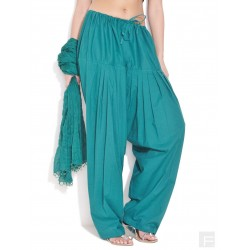 Котоновые штаны сальвары + шарфик без бисера размер XL
