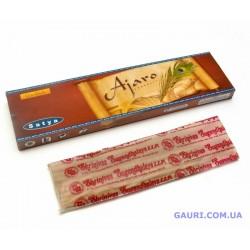 Благовоние Ajaro Satya, Аджаро - Белый Сандал, Чампа, Амбровое дерево и масло Какао (Шоколад)