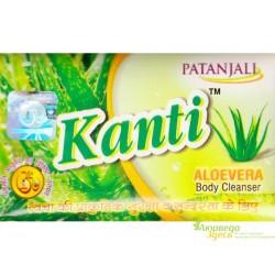 Мыло с Алоевера Канти, Kanti Aloevera, Patanjali Ayurved