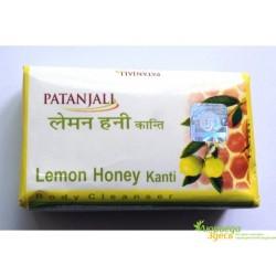Мыло Лимон и Мёд Канти, Kanti Lemon Honey, Patanjali Ayurved