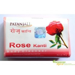 Мыло Роза, Канти, Kanti Rose, Patanjali Ayurved