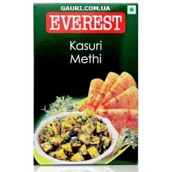 Касури Метхи (100 grm) Kasuri Methi, листья Шамбалы (Пажитника) сушёные