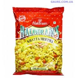 Сладкая пряная смесь, Кхатта Метха, Khatta Meetha Haldiram's
