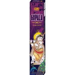 Благовоние пыльцевое Gopala Flora RAJ, 25 грамм, 14 палочек