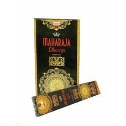 Благовоние Махараджа Дхуп, древесный аромат Тулси Сандала и Ладана, Даршан Maharaja Dhoop, 18палочек
