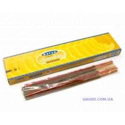 Благовоние пыльцовое Super Sandal, Satya, с нежным ароматом Сандала