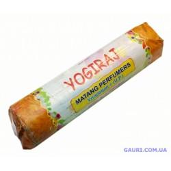 Ароматические палочки Yogiraj, Matang Perfumers Vrindavan, благовоние весовое, пыльцовое