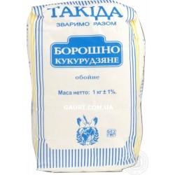 Мука Кукурузная, Такида, диетический продукт для ваших кулинарных шедевров