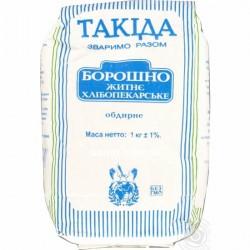 Мука Ржаная, Такида, по-настоящему целебный продукт