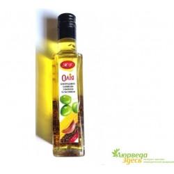 Кукурузно-Оливковое масло с Тмином и Чесноком. И не надо ехать в Италию!