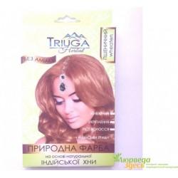 Краска природная Триюга Пшеничная для волос на основе натуральной хны