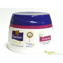 Крем Кокосовый против выпадения волос с экстрактом Чеснока 210 мл, Parachute Gold Hair Cream