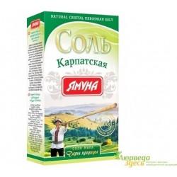 Соль Карпатская, коробка, 200г. Ямуна