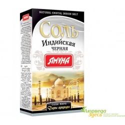 Соль Индийская чёрная, коробка, 200г. Ямуна