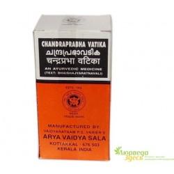 Чандрапрабха бати Коттаккал 100 таб., противовоспалительное, тонизирующее и очищающее средство, Chandraprabha Vatika Kottakkal