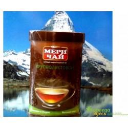 Черный Индийский крупнолистовой чай Мери Чай в металлической банке, Meri Chai, 100 грм.