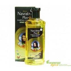 Масло против выпадения волос Навратна плюс, Navratna Plus hairfall control Oil, Himani