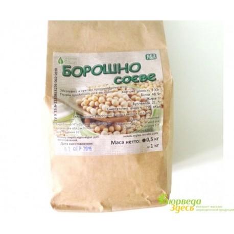 Мука Соевая 500г., Борошно Соєве, истинно диетический продукт