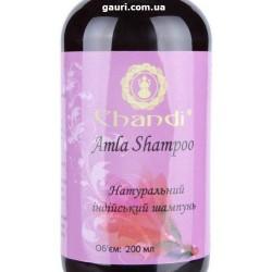 Шампунь Амла Чанди, натуральный Индийский, Amla Shampoo Chandi, 200мл