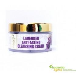 Крем антивозрастной очищающий с Лавандой и Розмарином, Vaadi Herbals Lavender Anti-Ageing Cleansing Cream