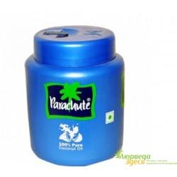 Кокосовое масло 100 мл. баночка Parachute для волос и тела, источник 100% натуральной красоты!