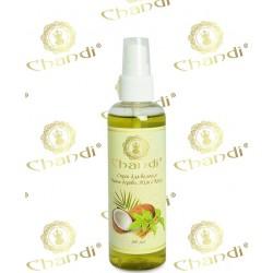 Спрей для волос Чайное Дерево, Ним и Кокос Чанди, Tee Tree, Neem and Coconut Chandi