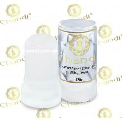 Натуральный солевой дезодорант Chandi, 120 грм., солевой минерал Potassium Alum