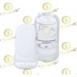 Натуральный солевой дезодорант Chandi, 60 грм., солевой минерал Potassium Alum